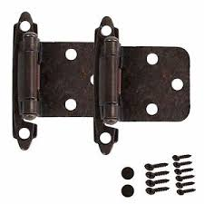 kitchen cabinet hinges self closing door overlay oil rubbed bronze