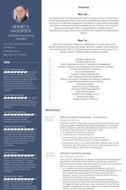 Sample Resume For Software Engineer Experienced by Engineering Manager Resume Samples Visualcv Resume Samples Database