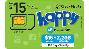 what is the best prepaid card happy prepaid sim cards starhub mobile