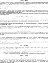association bureau conseil d administration creation d association pdf