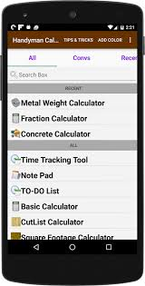 Total Square Footage Calculator Handyman Calculator Android Apps On Google Play