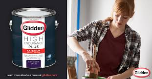 How Much Paint Do I Need Exterior - glidden high endurance plus exterior paint primer