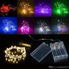 battery operated mini christmas lights 2m 3m 20 30leds aa battery operated led string mini led copper wire