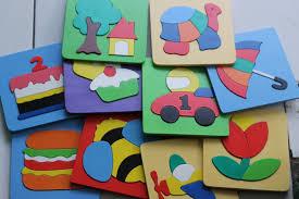 mobil balap puzzle cat 17x17 cm mobil balap mainan kayu com