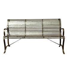 Wrought Iron Bench Wood Slats Wrought Iron Bench U2013 Massagroup Co
