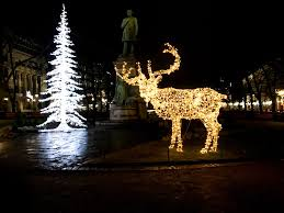 Deer Christmas Lights Helsinki Christmas Enjoying The Best Of The Holiday Season In