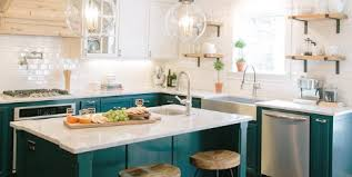 fixer blue kitchen cabinets 20 fixer makeovers that are kitchengoals