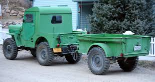jeep trailer build file 1953 willys cj 3b with trailer silver plume co jpg
