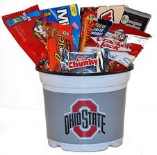 ohio gift baskets ohio state snack college gift basket brutus