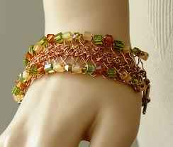 hair pin lace 14 hairpin lace bracelet doris chan crochet