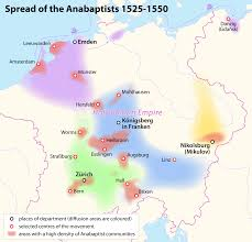 Map Of Switzerland And Germany by The Anabaptist Legacy Of The Amish Mennonites And Hutterites For