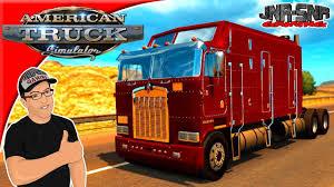 kenworth merchandise usa american truck simulator mods kenworth k100 mod review youtube