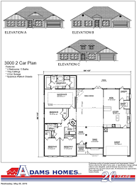 New Floor Plans by House Plan New Homes Crestview Fl Adams Homes Floor Plans