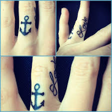 the 25 best anchor finger tattoos ideas on pinterest heart