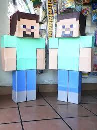 minecraft pinata steve minecraft piñata 240 00 en mercado libre