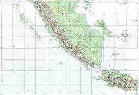 Map Of Jakarta Download Topographic Map In Area Of Jakarta Bandung Palembang