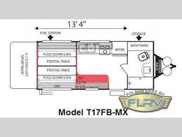 used 2010 forest river rv shockwave mx t17fb mx toy hauler travel