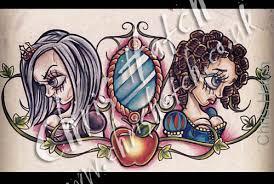 snow white tattoo design chris hatch tattoo artist www ink u2026 flickr