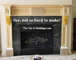 Make A Fireplace Mantel by How To Build Fireplace Mantel 102 Part 5 Make The Hood The Joy