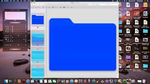 color of 2016 how to change the color of a folder on mac yosemite youtube