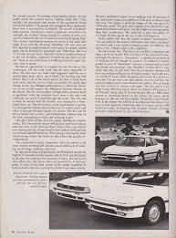 road u0026 track aug 1987 honda prelude 2 0 si 4ws review honda