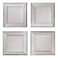 Bed Bath And Beyond Bathroom Mirrors by Office Star Products Time Square 4 Piece Mirror Set