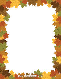 Thanksgiving Borders Clip Free Thanksgiving Clipart Border Collection