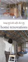 keeping your kids safe during home renovations
