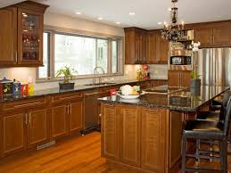 a cherry wood kitchen cabinet cherry kitchen cabinets pictures options tips ideas hgtv