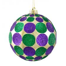 150mm indent dot ornament mardi gras xy801858