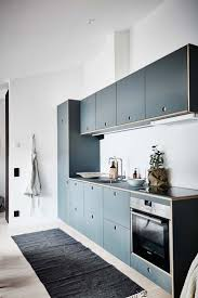 449 best interiors kitchen images on pinterest kitchen a compact kitchen module base from ikea upgraded with blue cabinet fronts from reform copenhagen