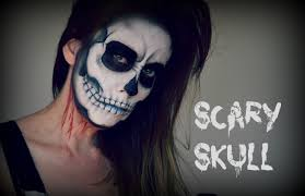 Halloween Skull Face Makeup by Skull Makeup Halloween Tutorial Youtube