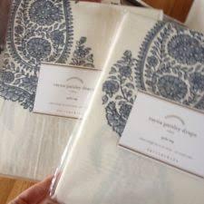 Blue Paisley Curtains Pottery Barn Paisley Curtains Drapes Valances Ebay