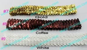 sequin headbands aliexpress buy free shipping mix color 100pcs 1 sequin