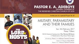 february 2017 thanksgiving service theme the lord of host