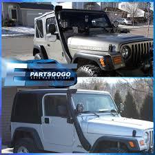 jeep yj snorkel 1999 2006 jeep wrangler 4x4 tj yj snorkel ram air intake system off