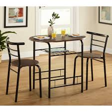 Cafe Style Table And Chairs 3 Piece Bistro Set Multiple Colors Walmart Com