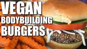 vegan bodybuilding cheeseburger recipe youtube