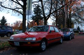 peugeot 405 tuning old parked cars 1989 peugeot 405 mi16