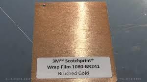 brushed gold brushed gold vinyl 3m
