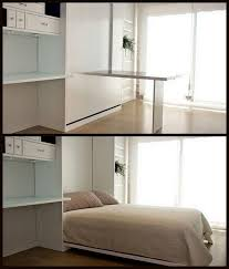 Folding Bed Desk Best 25 Murphy Bed Desk Ideas On Pinterest Murphy Bed With Desk