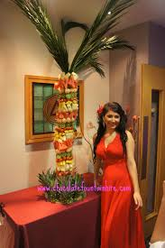 fruit palm tree hire london chocolate fountain hire