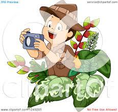 safari jeep clipart clipart of a happy safari boy taking pictures in the jungle