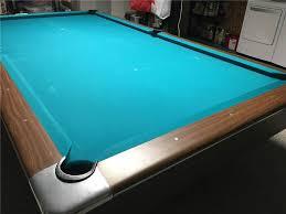 Gandy Pool Table Prices by Gandy Hustler 4 5 X 9 With Simonis 760 Teal Panjo