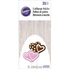where to buy lollipop sticks wilton 6 lollipop sticks 35 ct 1912 1007 walmart