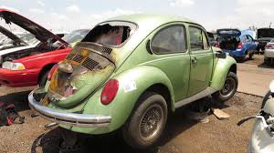 volkswagen beetle green 1973 vw super beetle an engine fire sent this rust free example