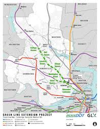 Red Line Mbta Map by Green Line Will Extend Through Somerville The Piper