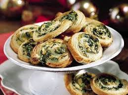 puff pastry canape ideas spinach and artichokes in puff pastry recipe myrecipes