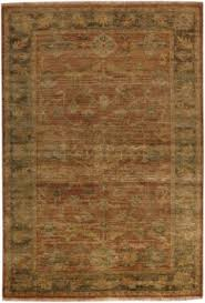Green Area Rug 8x10 Area Rug 8 10 Rectangle Traditional Rust Olive Green Area Rug