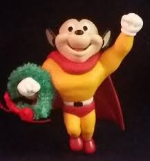 carlton mighty mouse crusader ornament 1998
